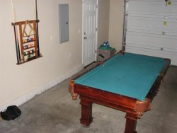 Oceana - Main Level - Garage - Pool table