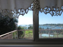 Newport Getaway - Master Bedroom - View