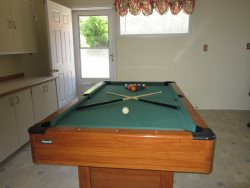 Newport Getaway - Game Room with Pool Table