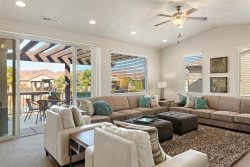 Poolside Family Retreat at Paradise Village, 4 Bedroom St. George Vacation Home
