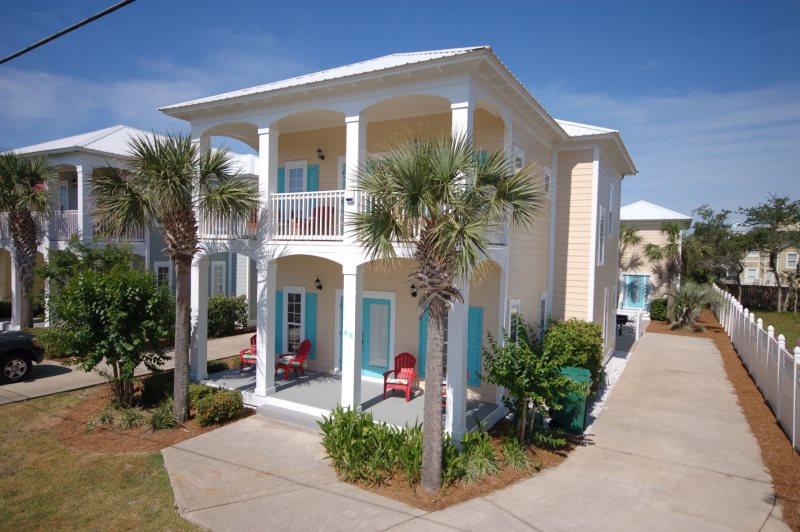 sugar palm vacation rentals  crystal mansion  crystal beach, Luxury Homes