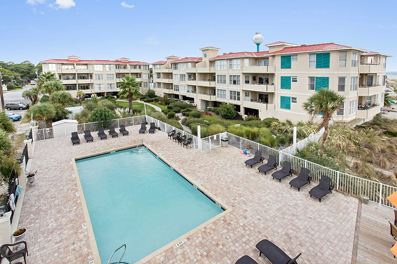 Tybee Beach Vacation Rentals Desoto Beach Club 301