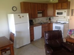 Fully Equpped Kitchen with Microwave and Dishwasher