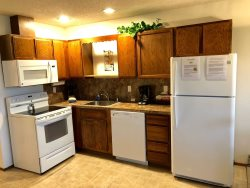 Living Room with Sleeper that opens to Queen Size Bed