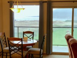 Private Bathroom with full size tub and shower