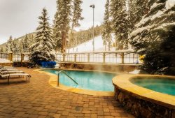 Year-round outdoor heated pool and hot tubs