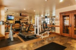 Lone Eagle fully equipped fitness room