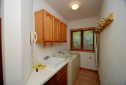 Laundry room available for your convenience
