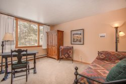 Spacious two bedroom condo on the second floor of the Pines complex