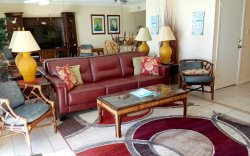 Beautifully decorated condo with an amazing view of the bay!