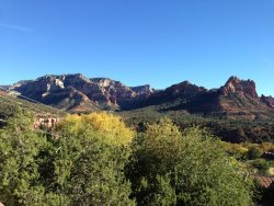 Beautiful Uptown Home sits `above` Scenic Sedona and takes full advantage of the Views!