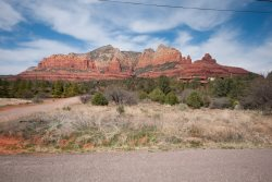 Ranch Style home with a guest cottage located in Uptown Sedona!