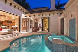 ROYAL PALM BEACH HOUSE & GUEST CABANA ~ Heart of Olde Naples ~ walk to beach and 3rd St.