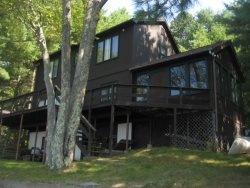 Waterfront Home on Ossipee Lake - Sandy Beach and Sunsets