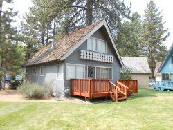 Affordable Tahoe cabin with an in town location