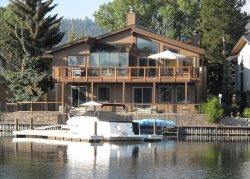 Beautiful Tahoe Keys gem of a home!  The perfect family get away with dock, close to main Lake entrance