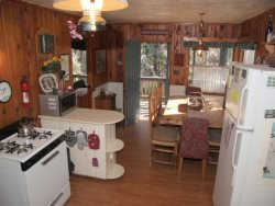 Abbey Cabin - Grandpa`s Getaway full of rustic Twain Harte charm featuring a spacious sunny great room.