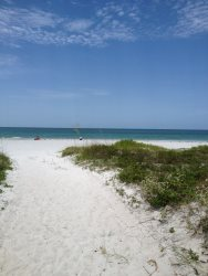 Fabulous views from this 3 bedroom 2 bath, condo, in Indian Rocks Beach