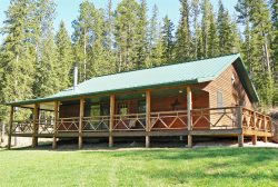 Beautiful Cabin in the Tenderfoot Valley