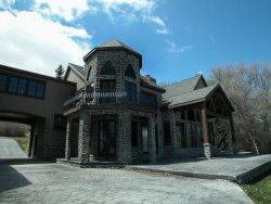 Beach Front Manor -  Incredible Beachfront Tudor Castle Style Home