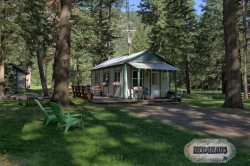 Cute cabin located on large lot