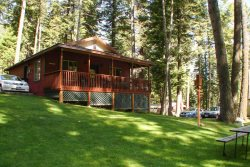 Large wheelchair accessible cabin with nice view