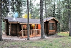 Gold Run Cabin-Cozy Cabin in the woods, with hot tub, SatTV, private back yard