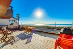 Ocean Front Mission Beach Rental: Sea Strong