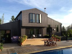 Designer home with Pool featured in Canadian House & Home