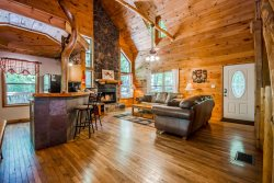 Sauna Creek is the Perfect Cozy Cabin for a Family Getaway!