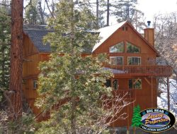 Olde Stag Lodge - an authentic mountain getaway in Big Bear with incredible views and room for the whole family.