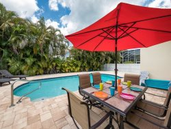 Anchors Away is your new Pier Area 3 BR Fort Myers Beach Vacation Home - New Private Pool!