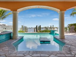Bay Front Beauty Pier Area with Pool, Dock and Amazing Views new to Sun Palace Vacations.