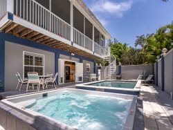 Mango Fandango is our Brand New Pier Area  Rental Home with Private Pool and Spa Just One Minute to the Beach