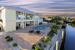 Brand New 5 BR Executive Canal Home with Private Pool and dock