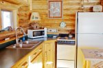 Cozy Woodstove in Cabin