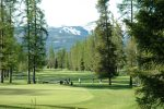 Whitefish Lake Golf Course, a short drive from Blanchard Woods
