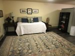 Downstairs Access to Boat Dock and River