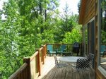 Deck with Gorgeous Views over Whitefish Lake
