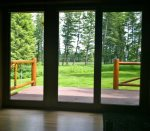 Doors to Back Deck off of Living Room
