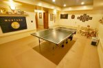 Downstairs Game Area, Ping Pong Table and Darts