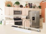 Great Room with Large TV and Saturated with Native American Decor