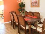 Enjoy a Family Meal in the Dining Area