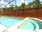 Private Pool, Spa, Shaded Lanai with Outdoor Table, Chairs and Loungers