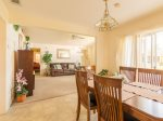 Family Meals Around the Dining Room Table with Six Chairs