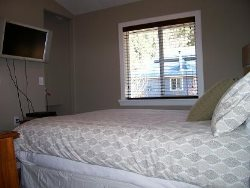 2nd bedroom, queen with flat screen tv