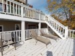 Cove Point Getaway - Couples Retreat - Main Deck has Step Access to Sun Deck