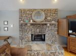 Cove Point Getaway - Great Room with Gas Fireplace