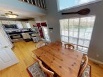 CPG - Dining Room and Kitchen with views of Norris Lake - Cove Point Getaway