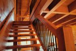 Elk Lodge stairs to loft
